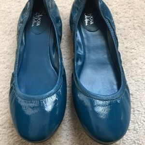 Cole Haan Maria Sharapova Blue Ballet Flats size 8